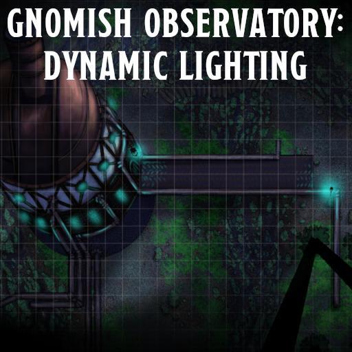 Gnomish Observatory: Dynamic Lighting