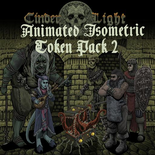 Animated Isometric Token Pack 2
