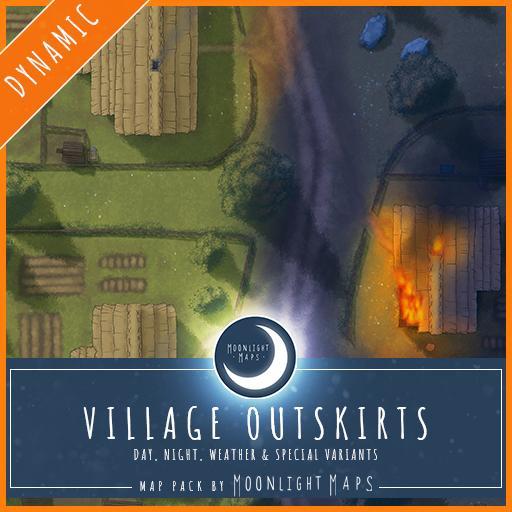 Dynamic   Village Outskirts