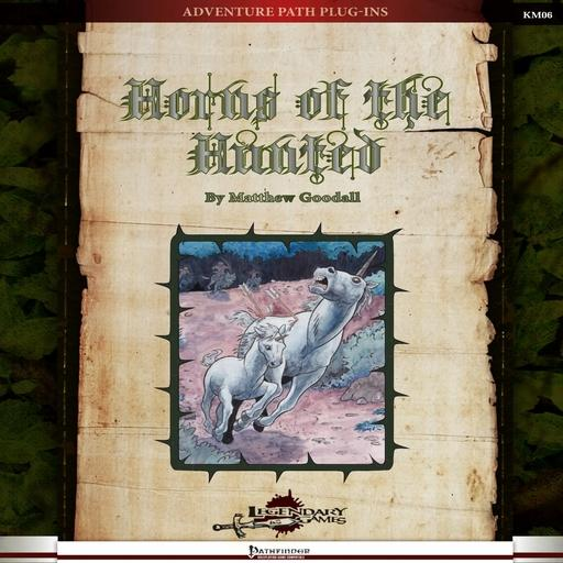 Horns of the Hunted (PF1e)