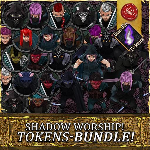 Shadow Worship - Tokens - Bundle!