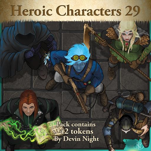 Heroic Characters 29