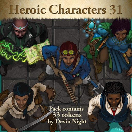 Heroic Characters 31