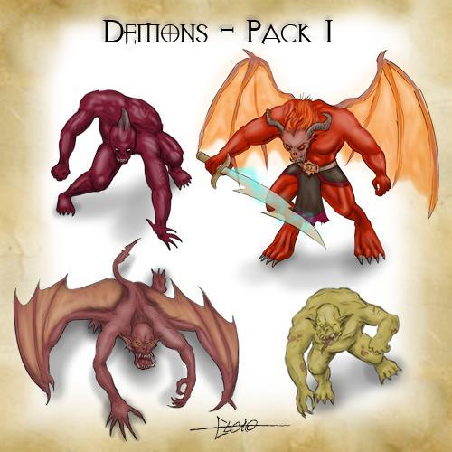 Demons - Pack 1