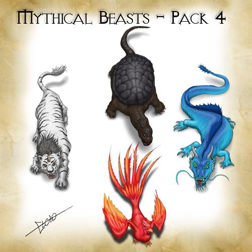 Mythical Beasts Pack 4