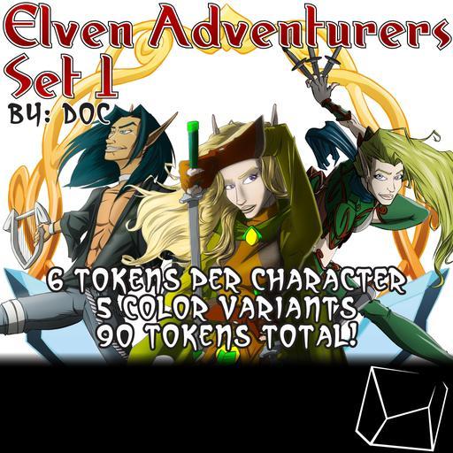 Elven Adventurers Set 1