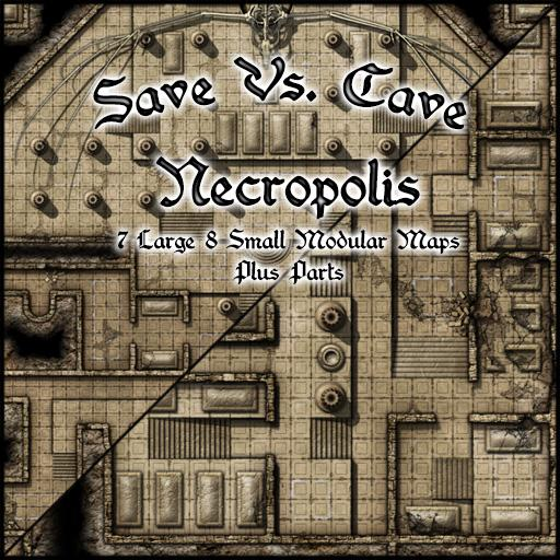 Save Vs. Cave Necropolis