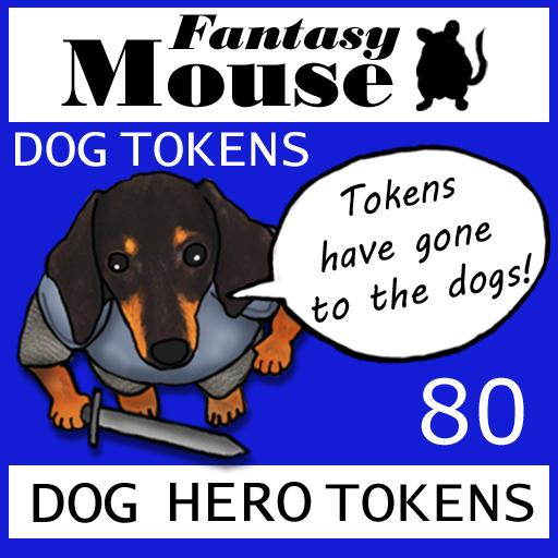 Fantasy Mouse Dog Tokens