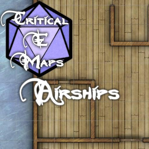 Critical E Maps: Airships