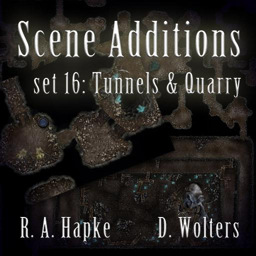Scene Additions set 16: Tunnels & Quarry