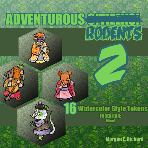 Adventurous Rodents Set 2