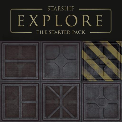 Starship Explore - Tile Starter Set