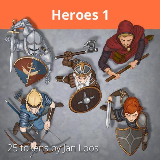 Jans Token Pack 3 - Heroes 1