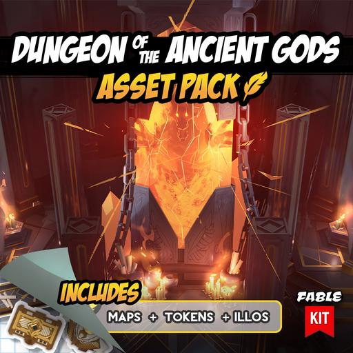 Dungeon of the Ancient Gods - Asset Pack