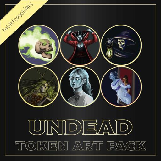 Undead Token Art Pack