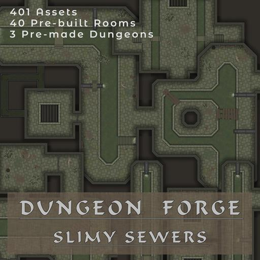 MF - Dungeon Forge - Slimy Sewers