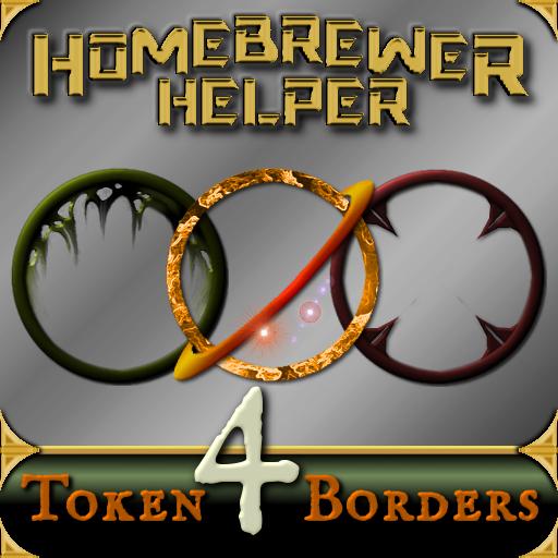 Homebrewer Helper Token Borders 4