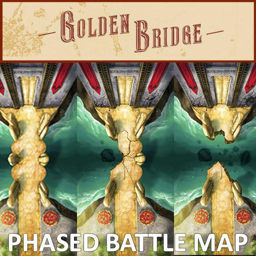 Golden Bridge Phased Battle Map