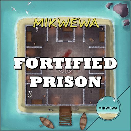 Fortified Prison Battlemaps