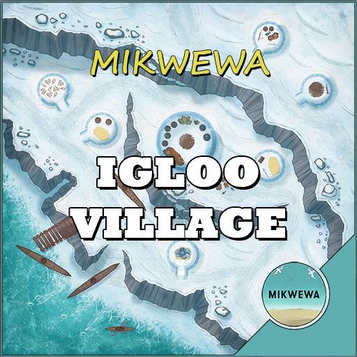 Igloo Village Battlemaps