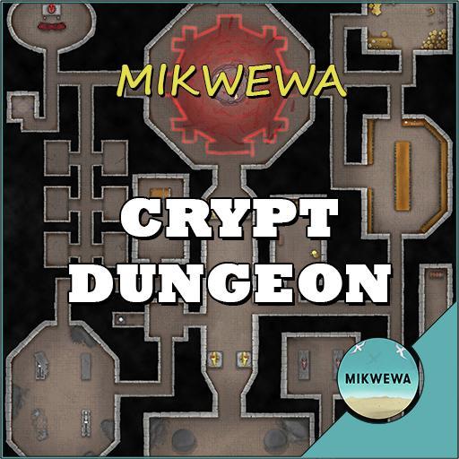 Crypt Dungeon Battlemaps