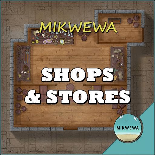 Shops & Stores Battlemaps