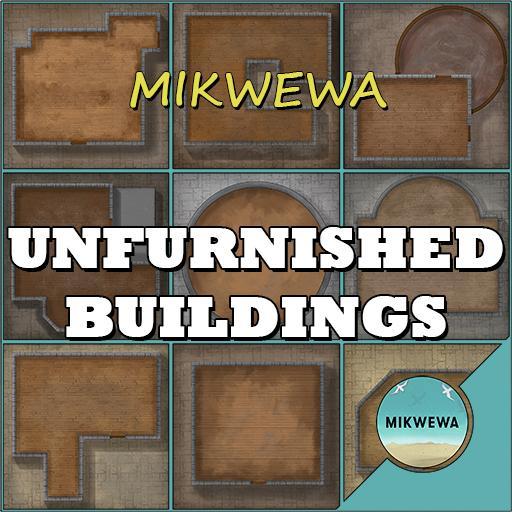 Unfurnished Buildings Battlemaps