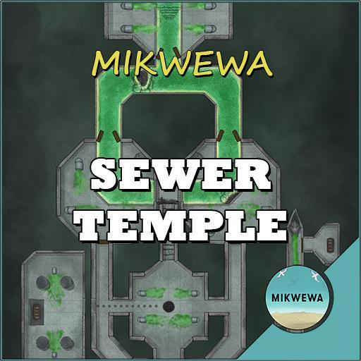 Sewer Temple Battlemaps