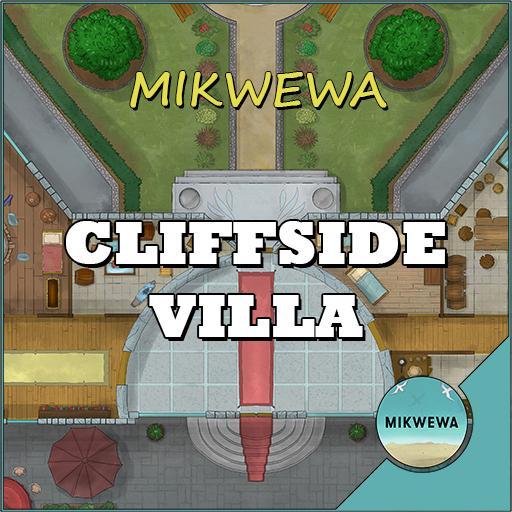 Cliffside Villa Battlemaps