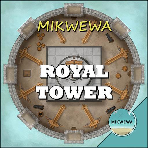 Royal Tower Battlemaps