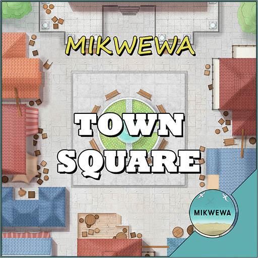 Town Square Battlemaps