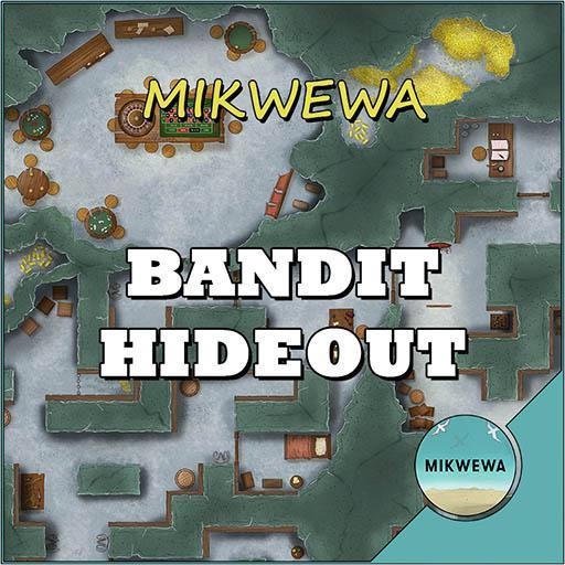Bandit Hideout Battlemaps