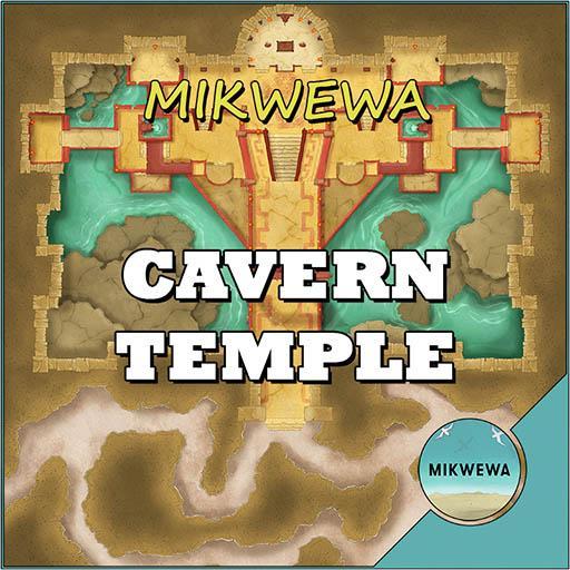 Cavern Temple Battlemaps
