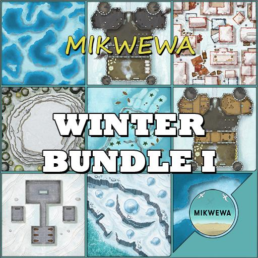 Winter Bundle I Battlemaps