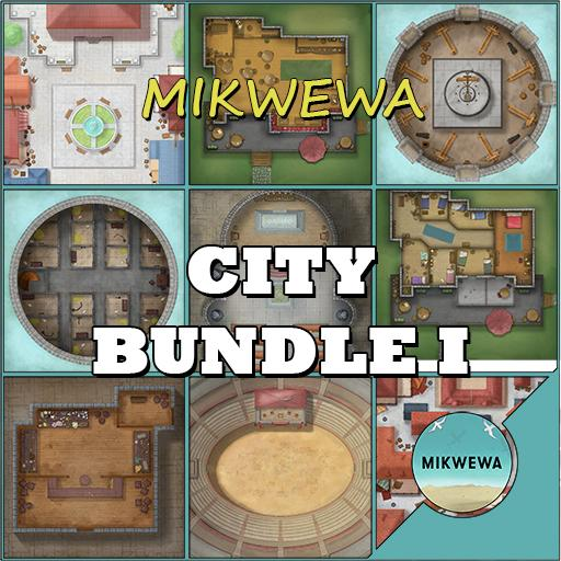 City Bundle I Battlemaps