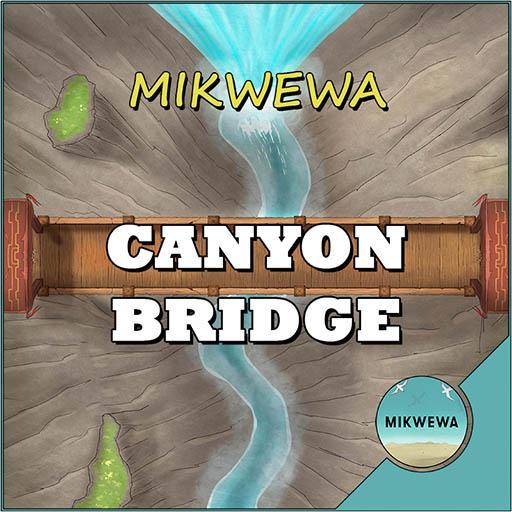 Canyon Bridge Battlemaps