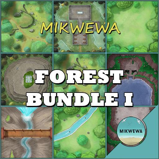 Forest Bundle I Battlemaps