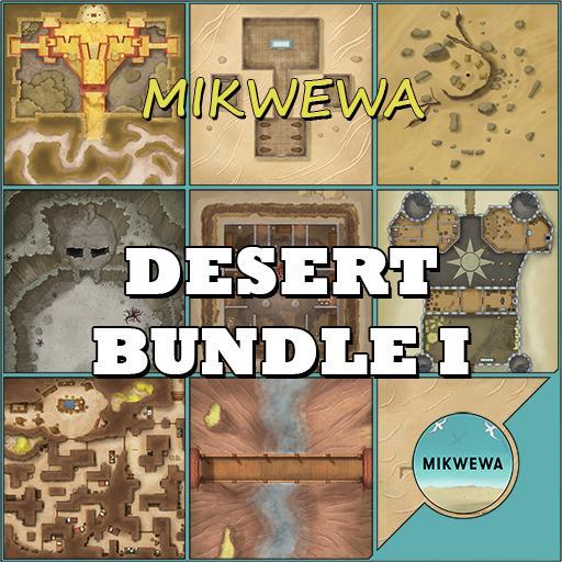 Desert Bundle I Battlemaps