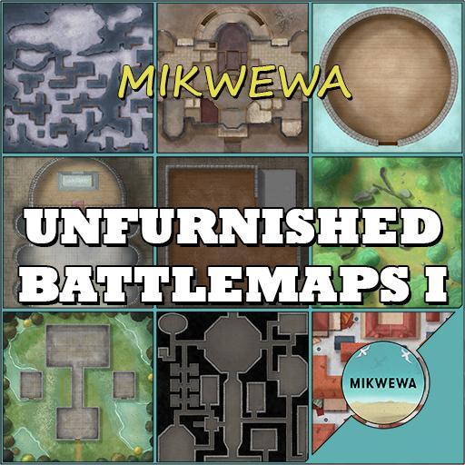 Unfurnished Battlemaps I