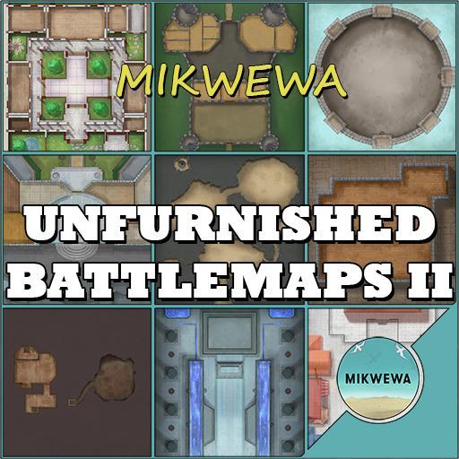 Unfurnished Battlemaps II