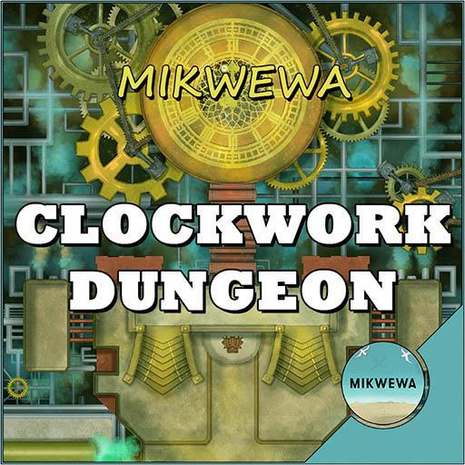 Clockwork Dungeon Battlemaps