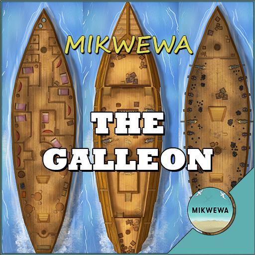Galleon Battlemaps