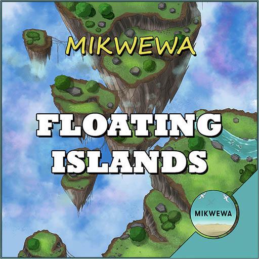 Floating Islands Battlemaps