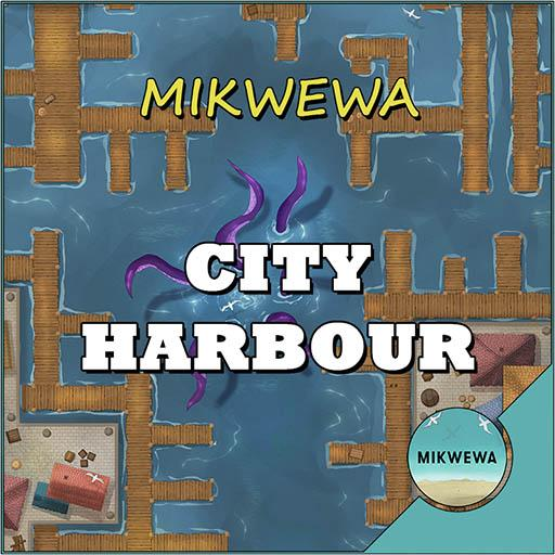City Harbour Battlemaps