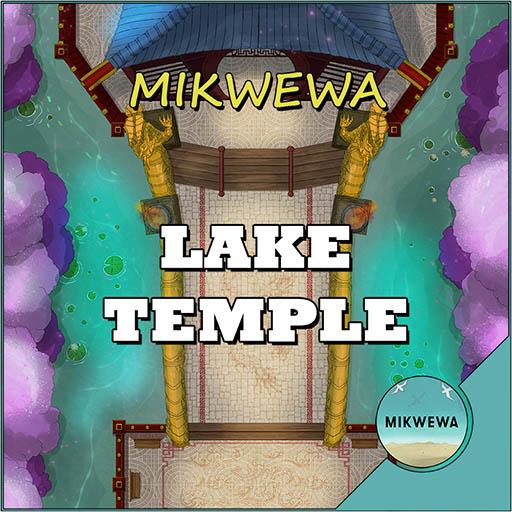Lake Temple Battlemaps