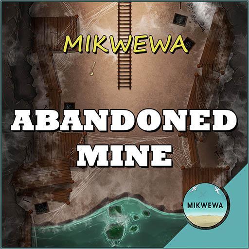 Abandoned Mine Battlemaps