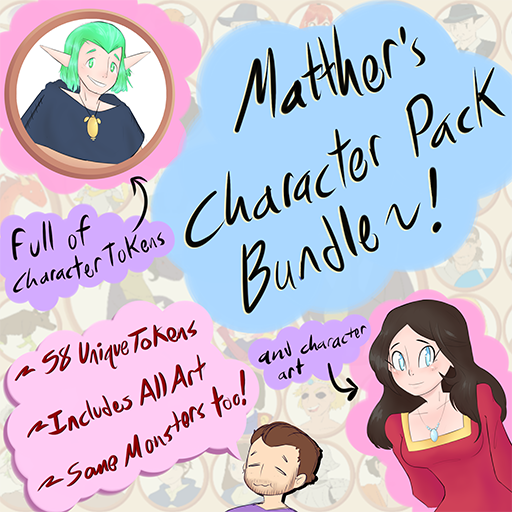 Matther's Character Pack Bundle
