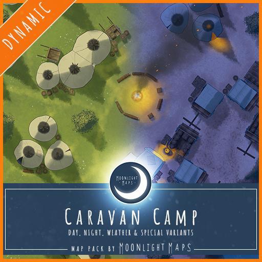 Dynamic   Caravan Camp