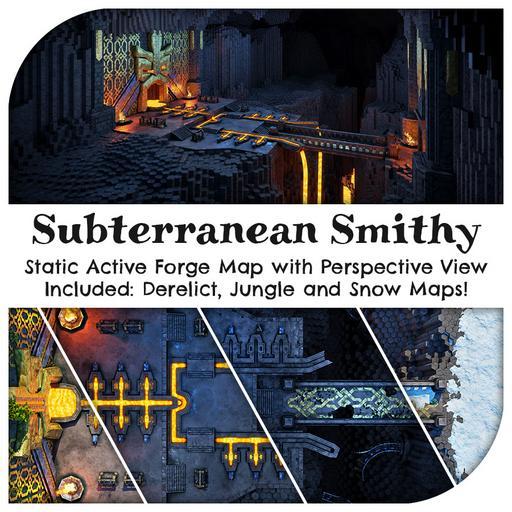 Subterranean Smithy Map Pack