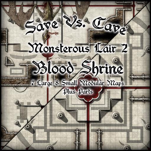 Save Vs. Cave Monsterous Lair 2 Blood Shrine